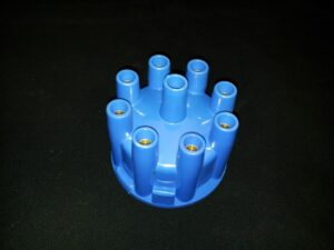 Retro lock blå instick