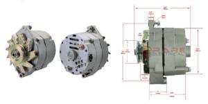 Generator 12 Volt 90A Plus Jord