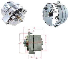 Generator kromad 6 Volt 50A
